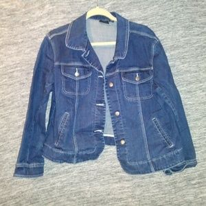 Chico Denim Jacket, Size 2